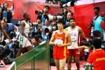 图文-亚运男子110米栏预赛刘翔早已习惯这种场面