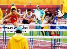 图文-亚运男子110米栏预赛飞人风采无人能及