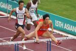 图文-亚运男子110米栏预赛面对飞人日本选手望尘莫及