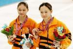 图文-女子双人三米板决赛赛况马来组合赢得铜牌