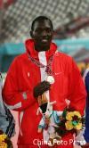 图文-男子800米巴林卡梅尔夺冠巴林名将卡梅尔