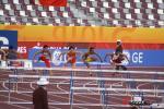 图文-刘翔打破亚运会纪录夺冠第一栏优势不明显