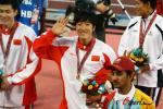 图文-刘翔打破亚运会纪录夺冠谢谢大家的厚爱