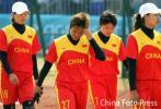 图文-女垒中国队7-10不敌中国台北失落的中国姑娘