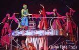 图文-第15届多哈亚运会隆重闭幕与阿拉伯姑娘起舞
