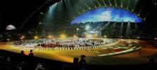 图文-第15届亚运会隆重闭幕美丽的哈里发体育场