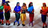 图文-第15届亚运会隆重闭幕腰鼓演员跳起舞来