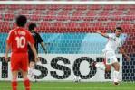 图文-[亚运会]国奥VS伊朗博哈尼庆祝自己进球