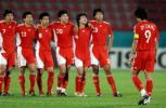 图文-国奥点球战负伊朗无缘亚运4强郑智罚失点球