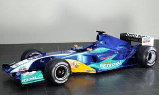 索伯提前发布新车C24改用米其林希望跑得更快(图)