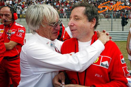 法拉利同意续约协和协议伯尼称F1将有美好未来