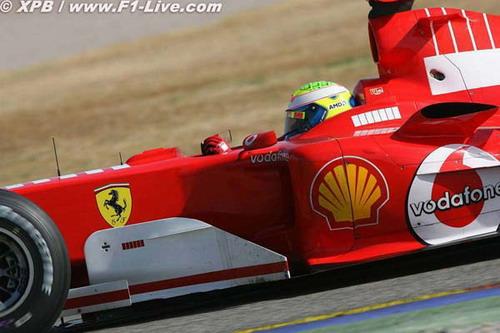 舒马赫信心鼓舞马萨相信法拉利248F1能够获胜
