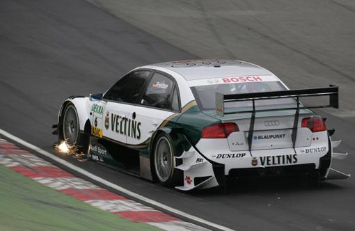 DTM布兰兹哈奇试车结束奥迪赛车稍稍领先(图)