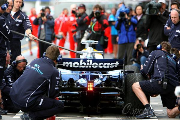韦伯满意第7位发车期待能在主场首次登上领奖台