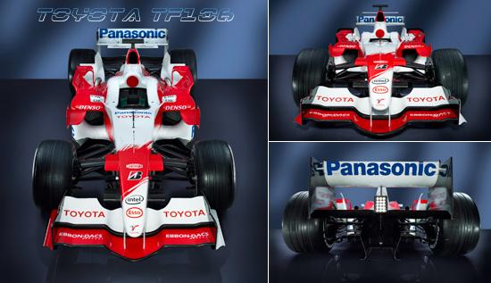 世界一级方程式锦标赛参赛车型介绍之丰田TF106