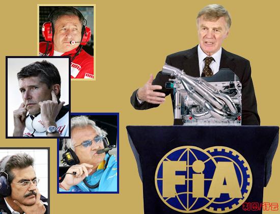 披露F1引擎规则争议全过程7000万欧元的利益较量