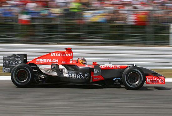 米德兰赛车被查出使用变形翼两位车手成绩被取消