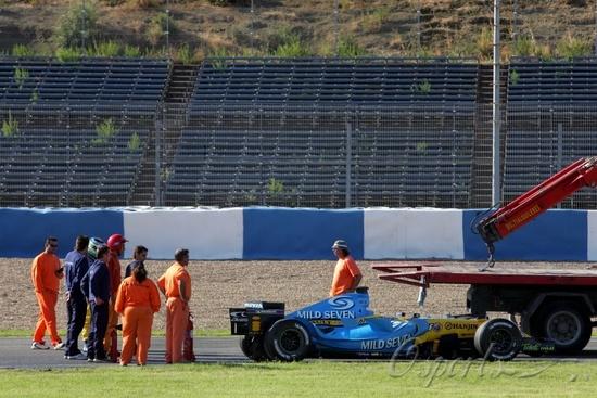 雷诺正陷入引擎故障泥潭赫雷斯测试连续两次爆缸