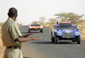 达喀尔第11赛段:车手终有机会欣赏非洲大陆风景