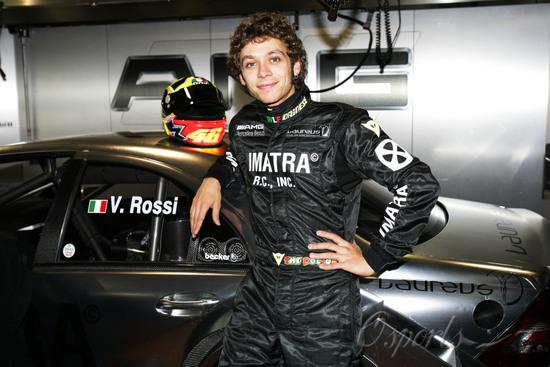 罗西与雅马哈续约至2008年近期无缘F1或WRC赛场