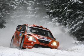 WRC瑞典站超级短道:嘉德麦斯特最快格隆霍姆紧随