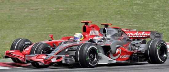 0.2秒优势F2007扛不住迈凯轮相信定会超越法拉利
