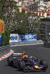 独家图-F1摩纳哥站周四练习赛韦伯在赛道上