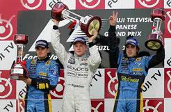 F1日本站雷克南赢得超车秀冠军车队上海大决战