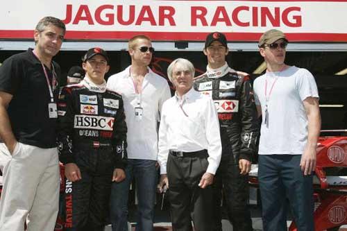 F1摩纳哥站排位赛 美洲虎携手好莱坞明星