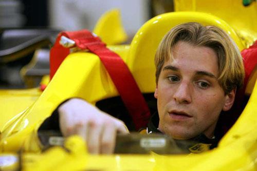 乔丹车队测试F3前荷兰冠军阿尔博斯 6