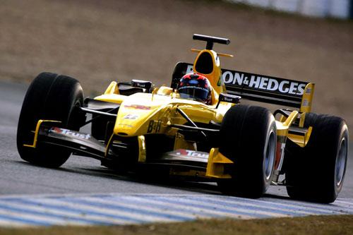 图文-F1赫雷斯赛道试车次日阿尔伯斯为乔丹试车
