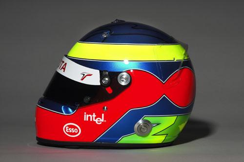 图文-F1丰田车队05赛季车手头盔宗塔头盔侧面