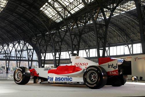 图文-丰田发布新车TF105发布会现场(31)