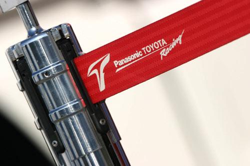 图文-F1赫雷斯赛道试车第4日丰田logo向法拉利看齐