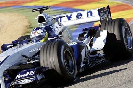图文-F1威廉姆斯发布新车科技与美的完美结合