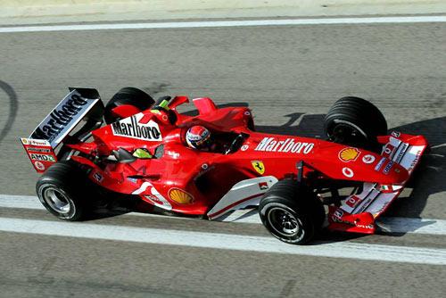 图文-F1瓦伦西亚试车次日法拉利稳定就是一切