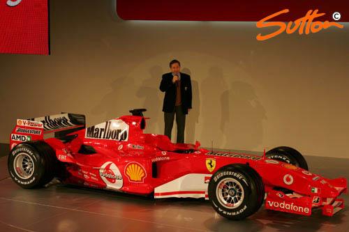 图文-F1法拉利车队发布新车托德发布仪式致词