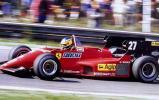 独家图片-法拉利历届F1战车展示1984年126C4型