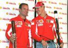 图文-F1法拉利车队媒体见面日法拉利双杰眉开眼笑
