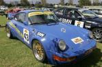 独家图-超级跑车争霸墨尔本赛道蓝色的保时捷911