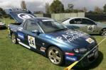 独家图-老爷车闪耀墨尔本F1赛道蓝色的澳洲霍顿