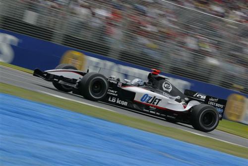 独家图-澳洲GP赛车高速抓拍米纳尔迪车队弗里萨切