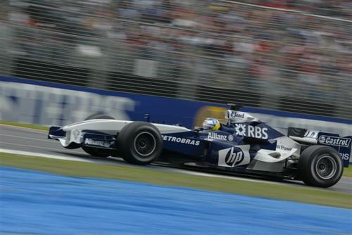 独家图-澳洲GP高速抓拍威廉姆斯车队海德费尔德