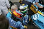 图文-F1澳大利亚站颁奖仪式车手老板抱做一团