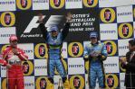 """图文-F1澳大利亚站颁奖仪式墨尔本""""三甲"""""""