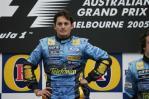 图文-F1澳大利亚站颁奖仪式牛气冲天