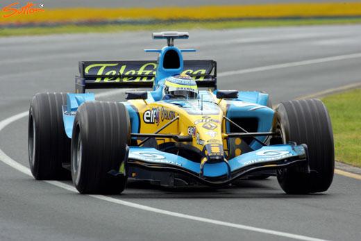 图文-F1澳洲站第二次排位赛费斯切拉夺得杆位