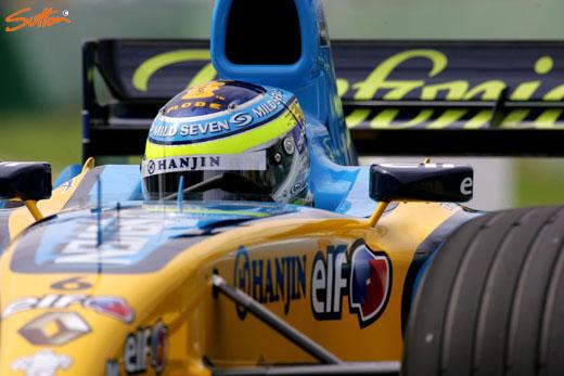 图文-F1澳洲站第二次排位赛费斯切拉眼眉吐气
