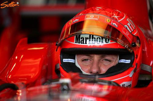 图文-F1澳洲站第二次排位赛舒马赫这次心情不爽