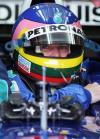 图文-F1澳洲站第二次排位赛维伦纽夫老态龙钟